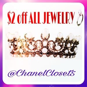 Jewelry - Jewelry is $2 off for the next 24 hours.